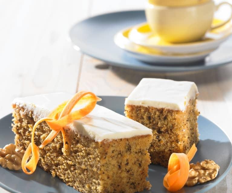 Švédský mrkvový dort