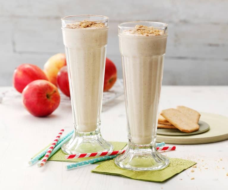 Milkshake pomme-cannelle