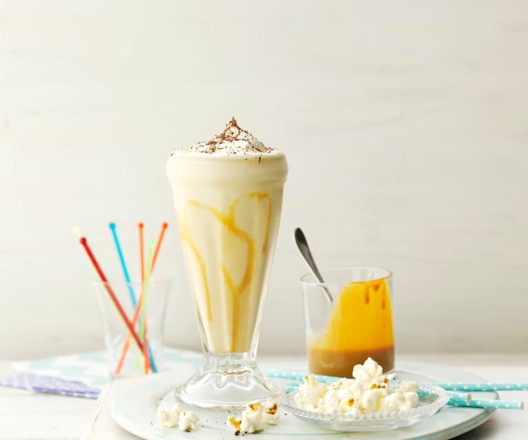 Karamelový milkshake s banány