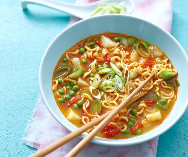 Mie-Nudel-Suppe