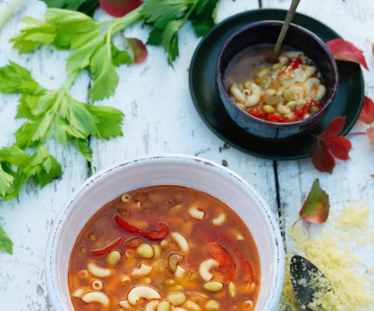 Sopa rica de soja