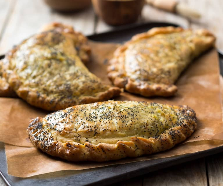 Broccoli mustard pasties