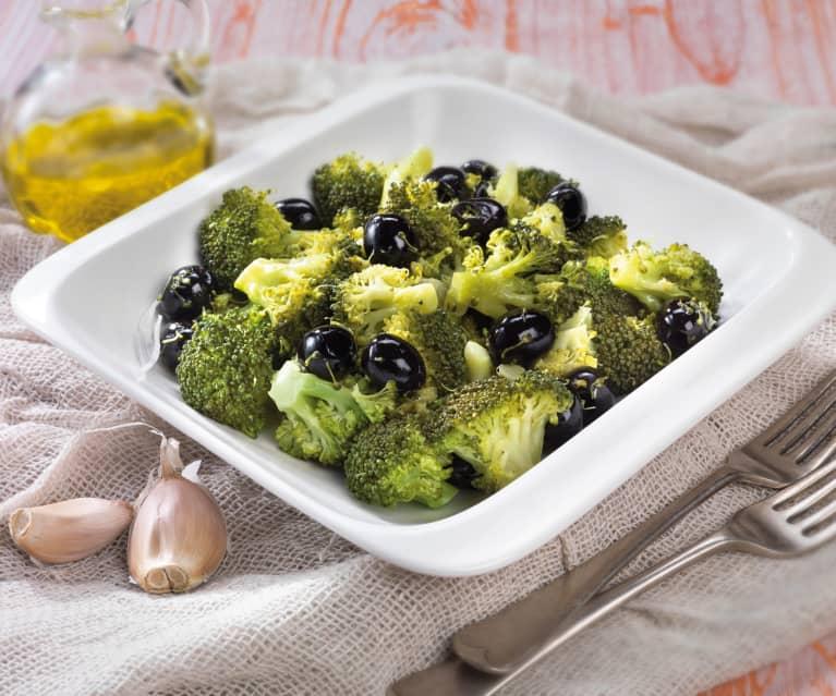 Broccoli alla siciliana con olive