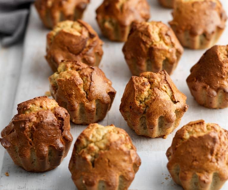 Banánové Paleo muffiny s kešu ořechy (bez mouky)