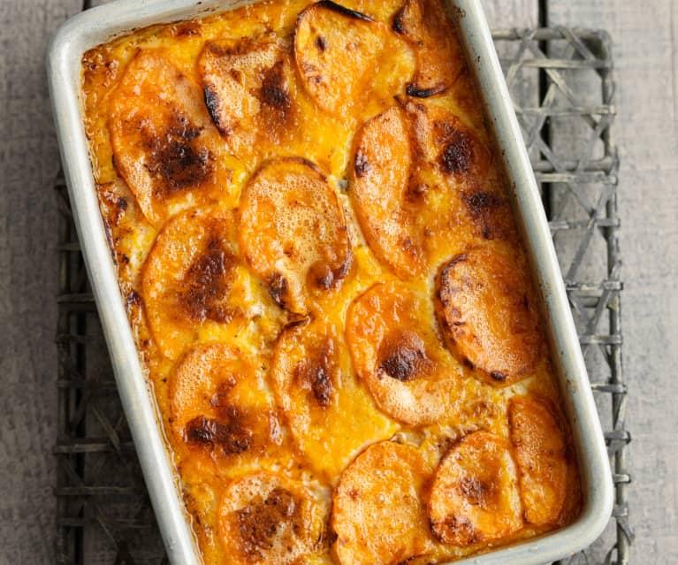 Paleo lasagne z batátů (bez mouky)