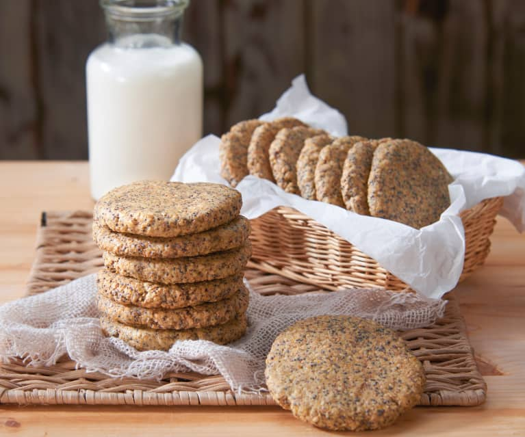 Biscotti ai semi vari (senza zucchero)