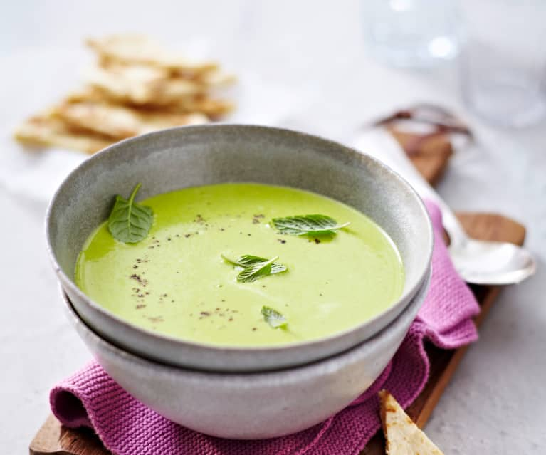 Erbsen-Curry-Suppe