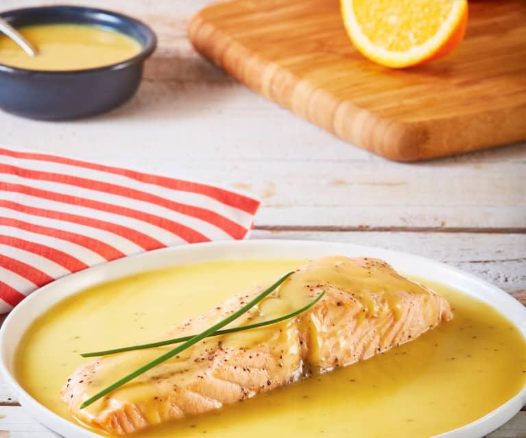 Receta salsa naranja salmon