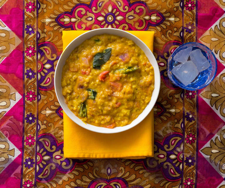 Curry di lenticchie alla cingalese (Dahl)