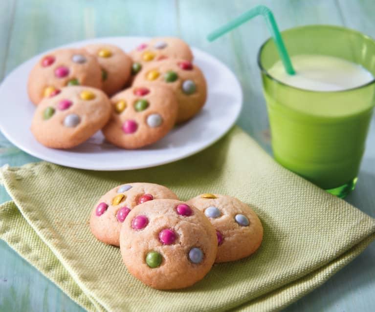 Cookies aux dragées au chocolat