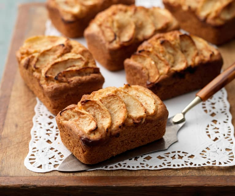 Mini Apple Loaf Cakes