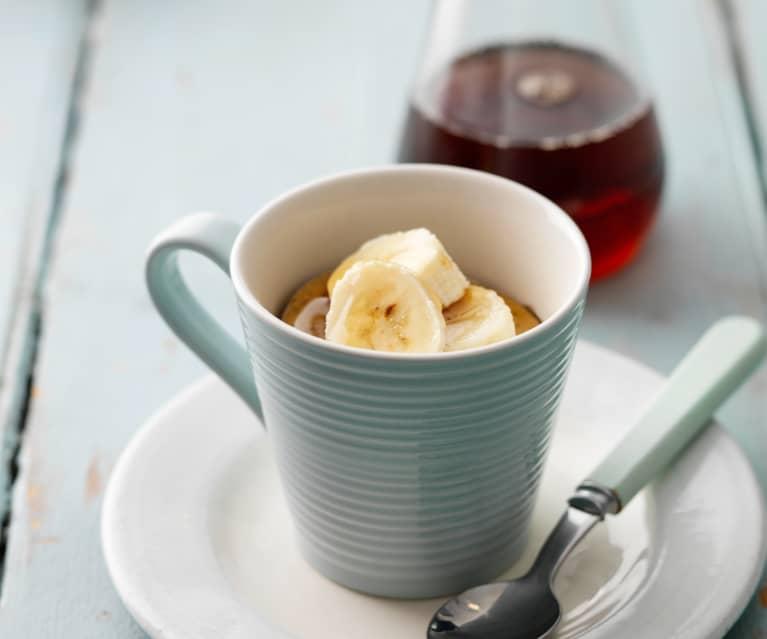 Banana Mug Cakes