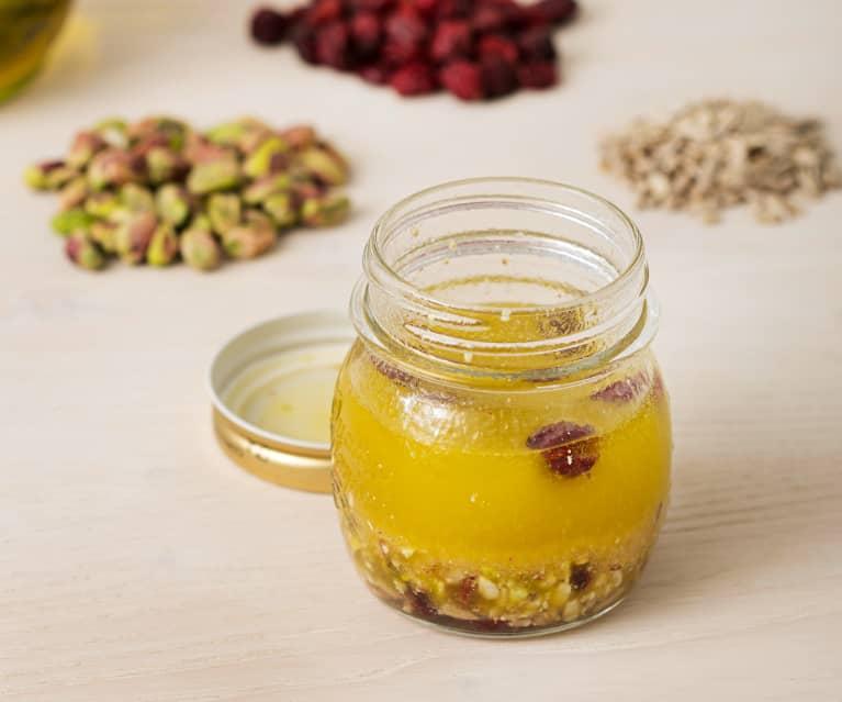 Vinagreta de frutos secos