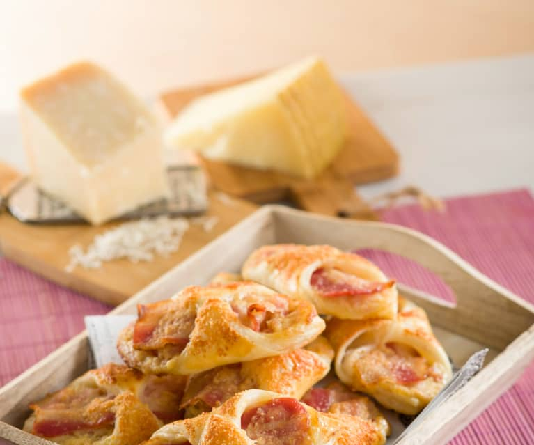 Cheese and Bacon Pastries