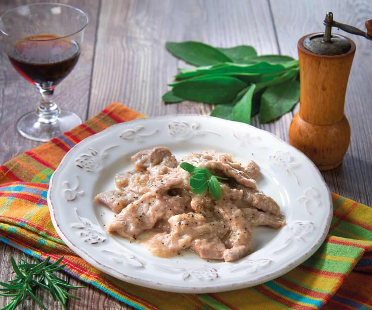 Filetes de ternera al vino