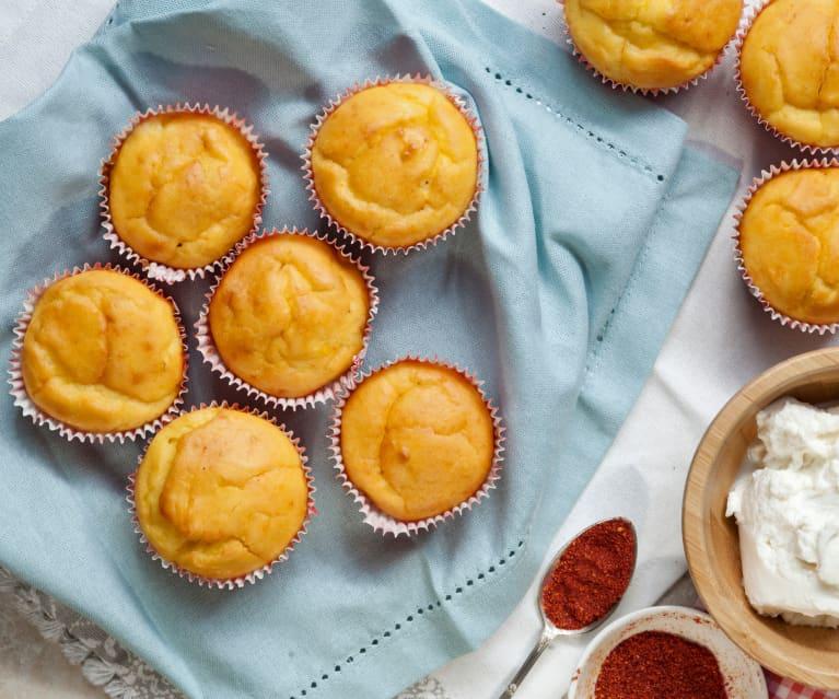 Muffin ricotta e zafferano