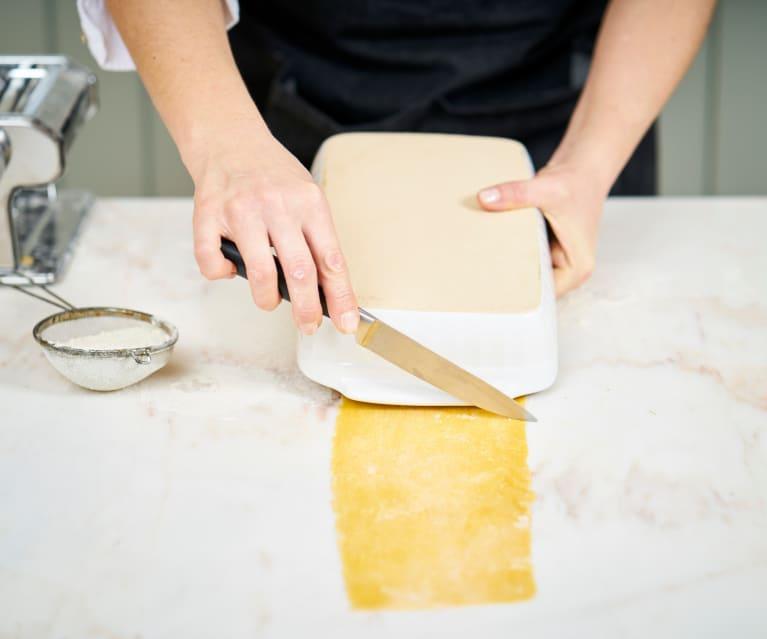 Técnica Placas de lasanha