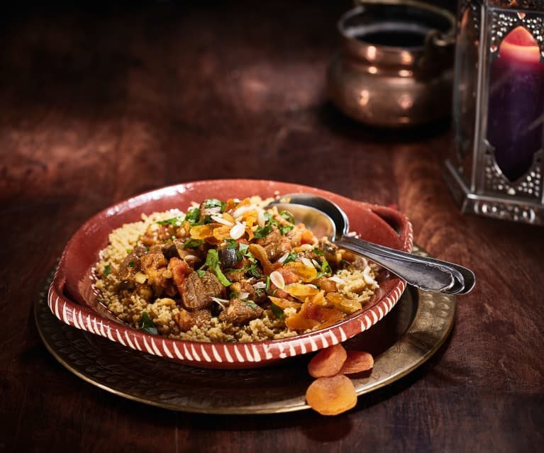Lamb Tagine with Apricots and Honey