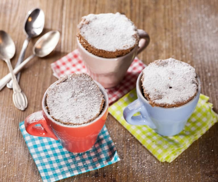 Mug cake à la pâte à tartiner chocolat-noisette