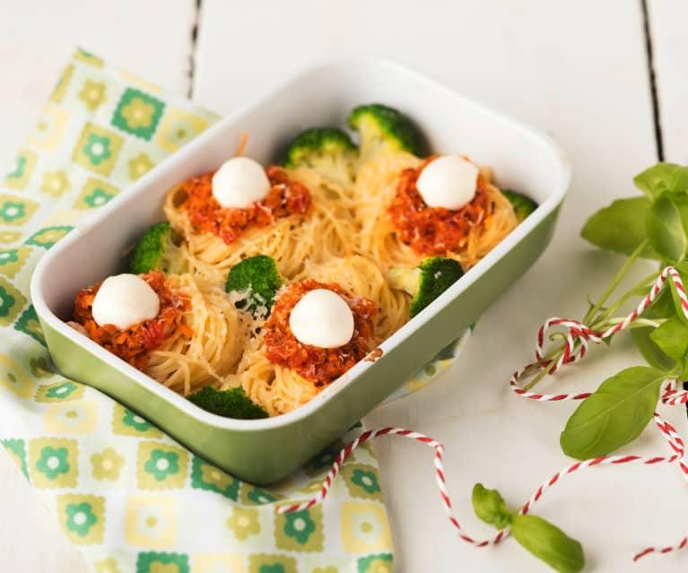 Nids de spaghetti