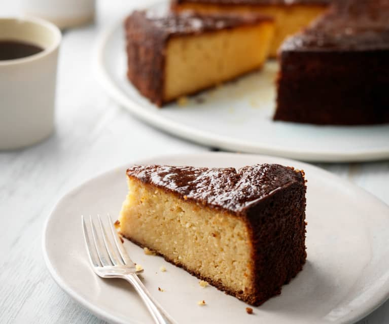 Orange Drizzle Vegetable Cake (gluten and dairy free)