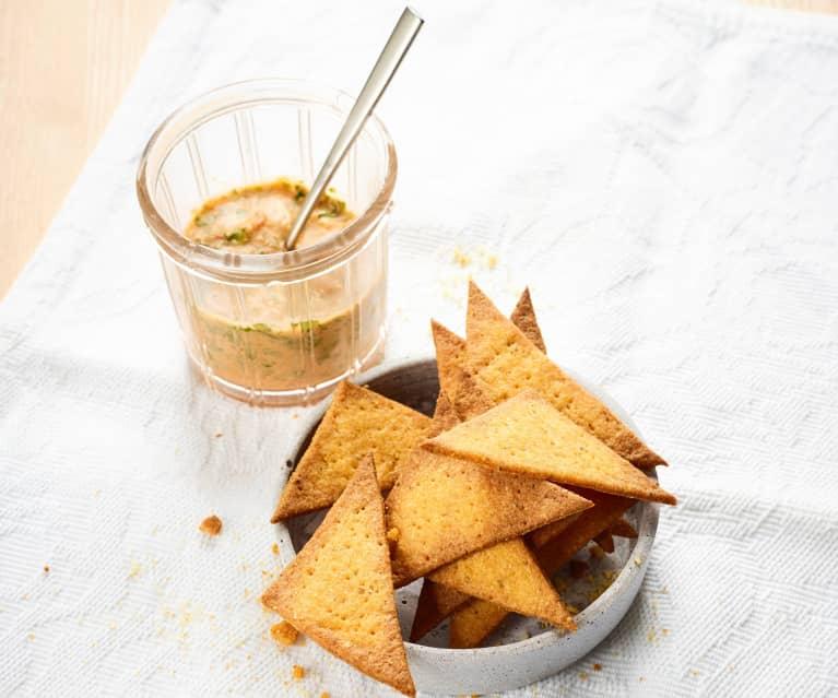 Chipsy z rozmarynem i tymiankiem