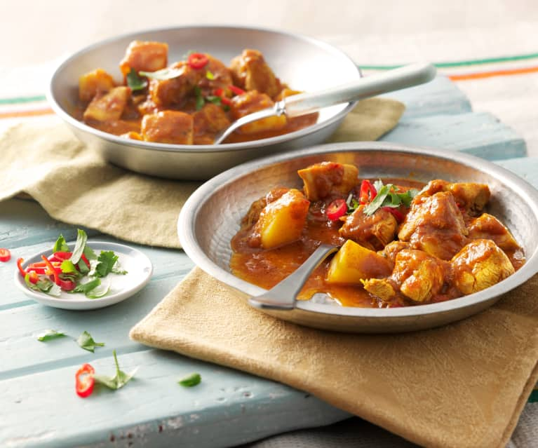Cape Malay Hähnchen-Curry