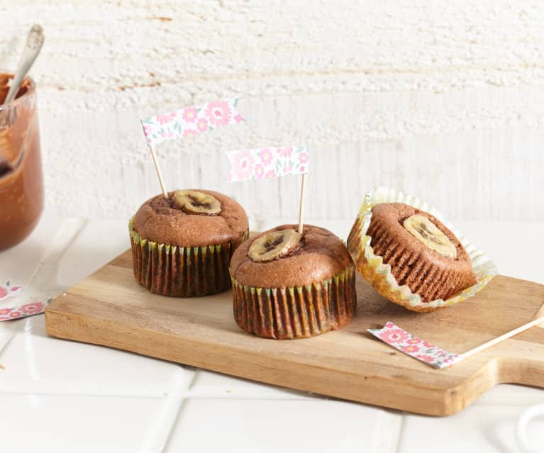 Muffins Nutella®-banane