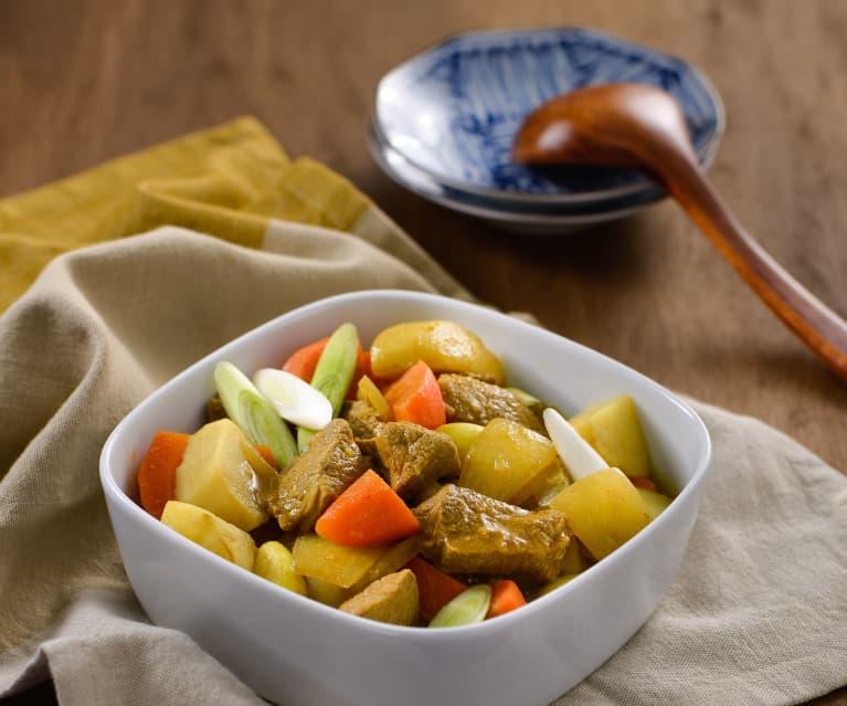 咖哩風味馬鈴薯燉肉