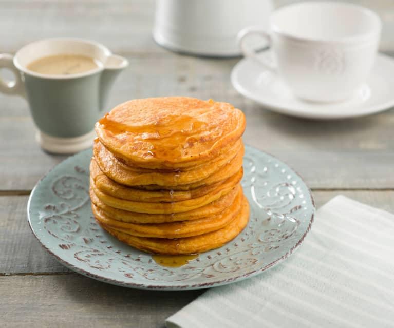 Tortitas de batata de Luisiana (sweet potato pancakes)