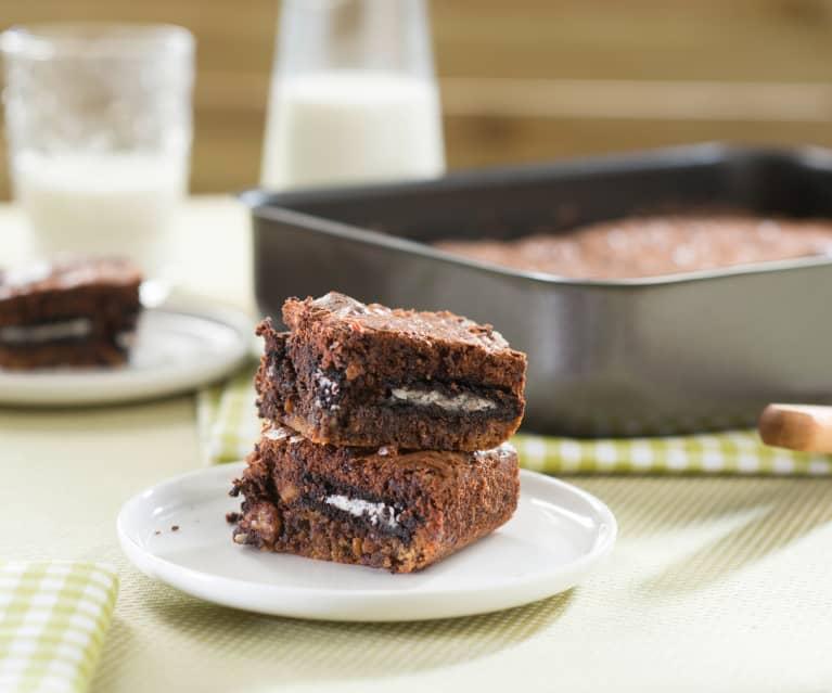 Tarta brow-kies (brownie-cookies)