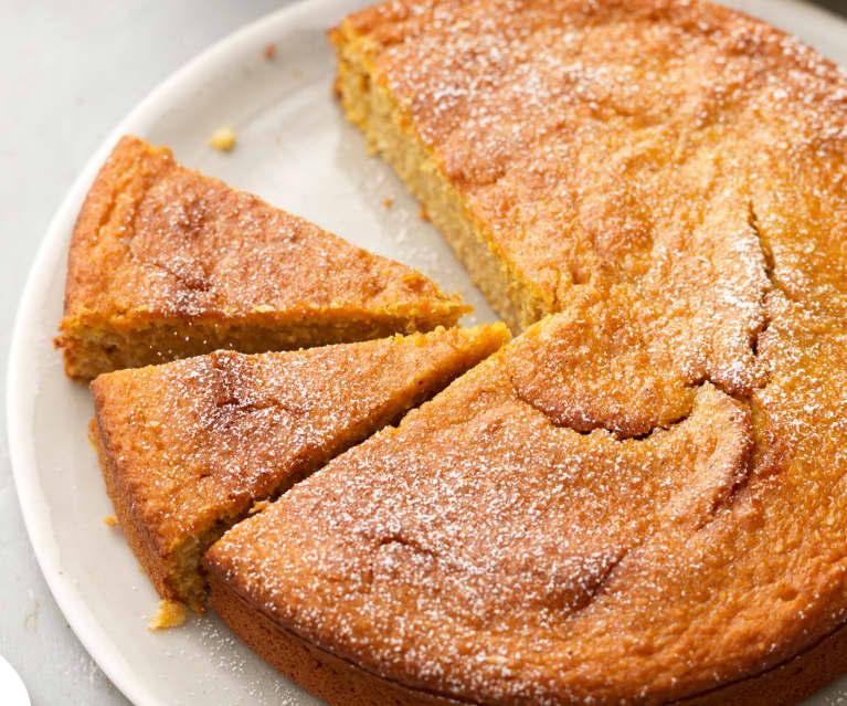 Torta Zucca Cocco E Arancia