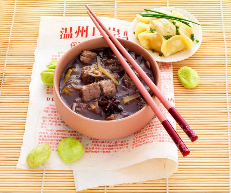 Baozi et soupe chinoise