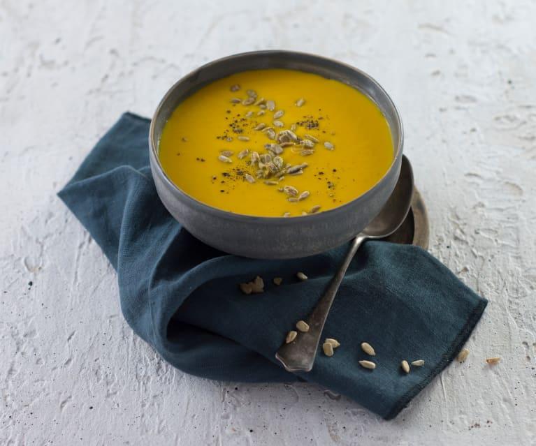 Apfel-Karotten-Suppe schnell gemacht