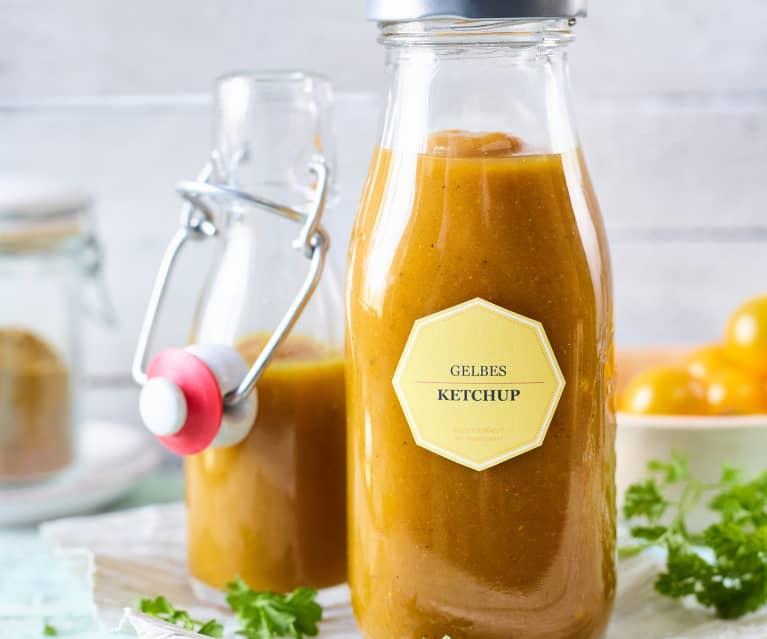 Gelbes Ketchup