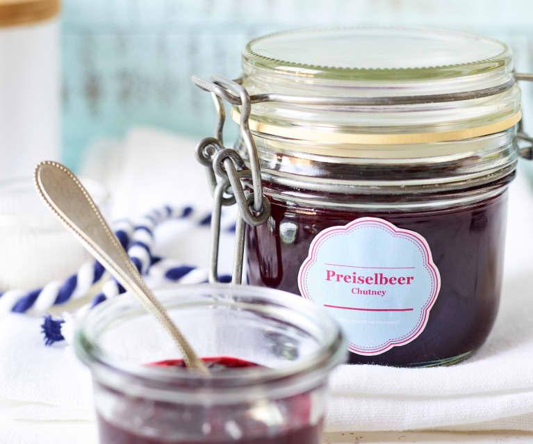 Preiselbeer-Chutney