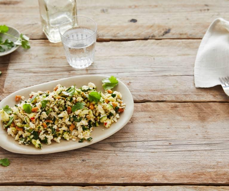 Blumenkohl-Zucchini-Salat