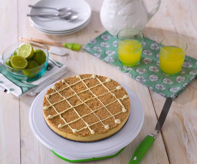 Limonkowe ciasto na zimno