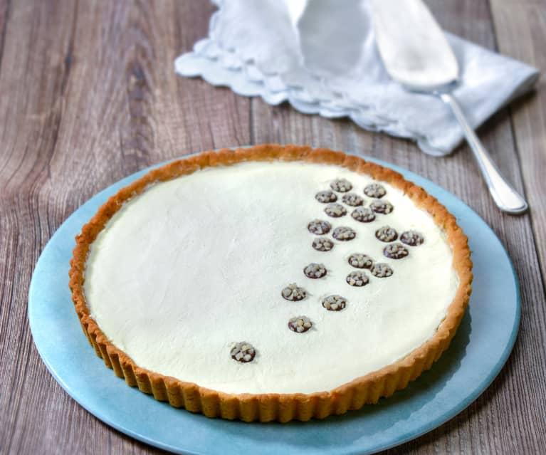 Crostata mascarpone e gianduia