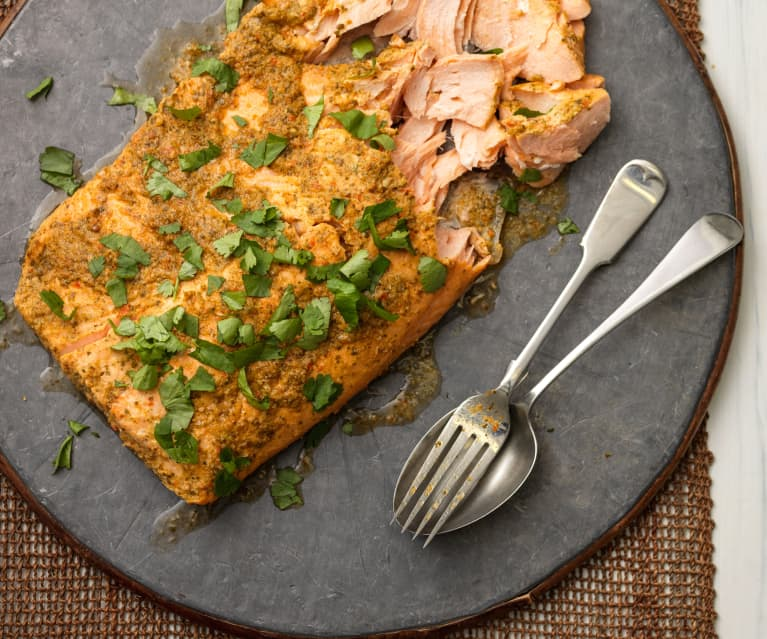 Asian Steamed Side of Salmon