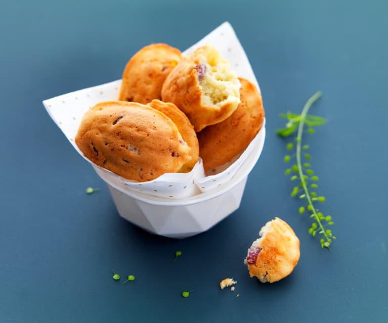 JUIN - Mini-madeleines jambon-roquefort - Bruno Dinel