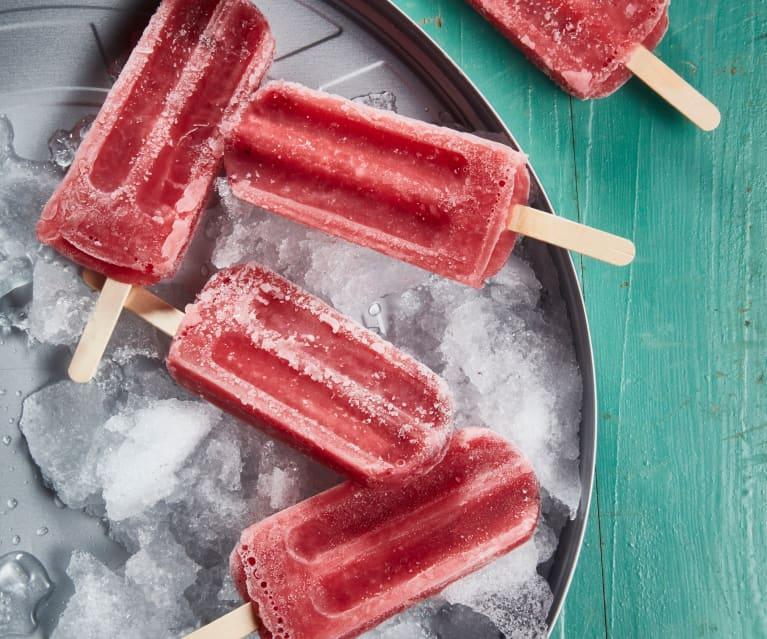 酒香草莓冰棒