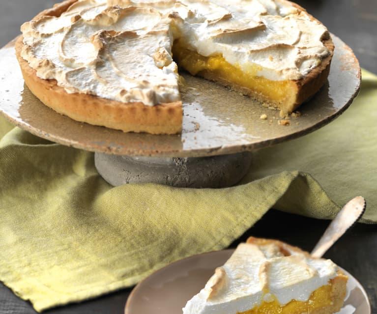 Tarta de limón y merengue