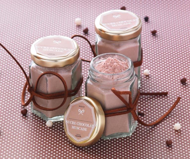 Sucre à la noix de muscade et au chocolat