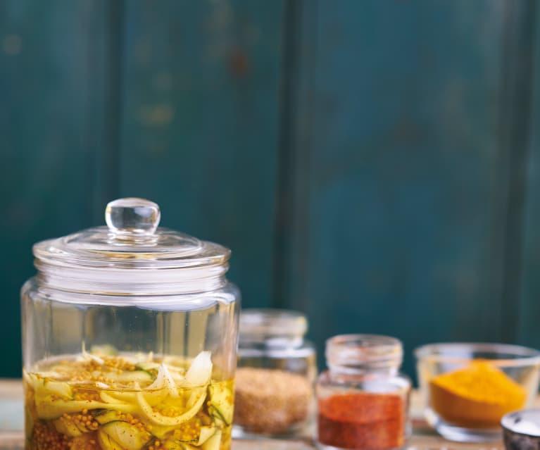Pickles de curgete