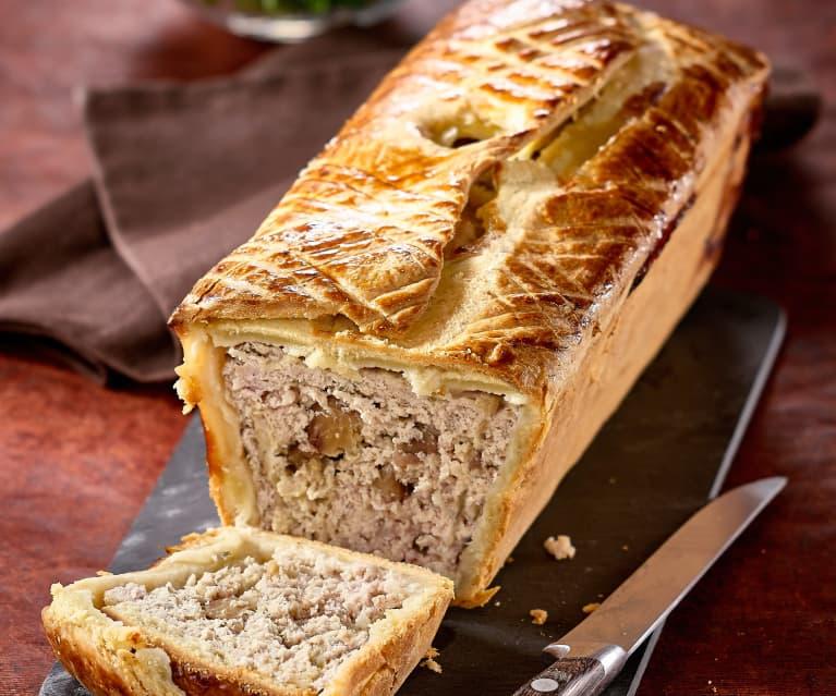 Patè  alle castagne in crosta