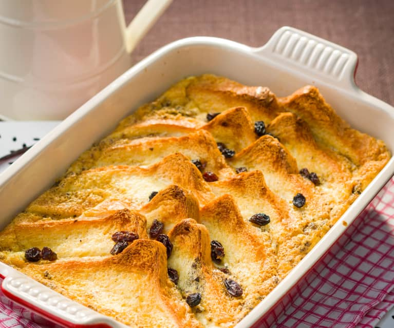 Pudin inglés (Bread and butter pudding)