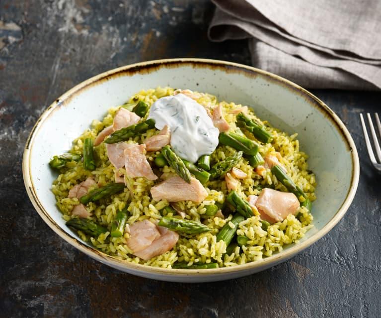 Salmon and Lemon Rice Salad
