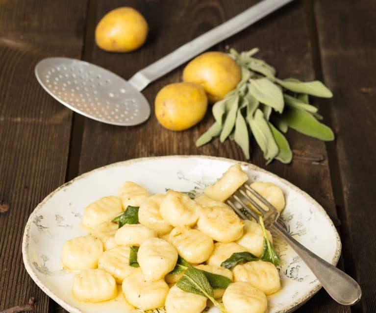 Erdäpfel-Gnocchi
