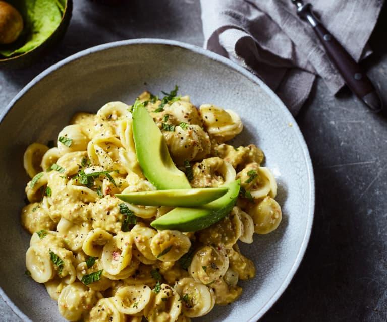 Avocado Pesto Orecchiette